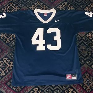 Vintage Nike USA college football Jersey mens L